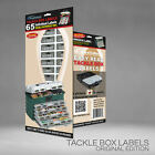 NEW TACKLE BOX LOTS - ORGANIZER LABELS for the FISHERMAN