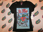 NWT FLORIDA GATORS SHORT SLEEVE SHIRT BLACK TILE XL