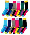 Lot 3, 6, or 12 Pairs Womens Girls Ladies ELKS Pattern Design Crew Socks 70501