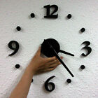 Modern Interior Deco DIY Wall Clock - Self Adhesive US