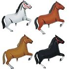 "SET OF 3 34"" HORSE FOIL BALLOONS- 4 COLOURS AVAILABLE"