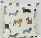 LABRADORE DOG SCOTTY POODLE SAUSAGE DOG CUSHION COVERS