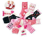 Set 10 Strawberry Princess Ruffle Sock 15-19/20-24CM