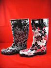 Raben Gum Boots Black or Red GumBoots Size 5 6 7 8 9 10