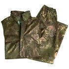 WET WEATHER RAIN WATERPROOF FISHING SUIT RAINPROOF WORK SET ARMY VEGETATO S-XXL