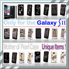 ◆For Samsung Galaxy S2 Mother of Pearl ★ Phone case Unique Item Choose one◆Korea