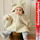 Cute Fancy Warm Comfortable Baby Unisex Clothes Coat Shawl Blouse