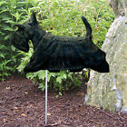 Scottish Terrier Dog Figure Garden Stake Home Yard Decor Products