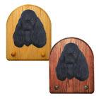 American Cocker Spaniel Dog Figure Key Leash Holder. In Home Wall Decor Products