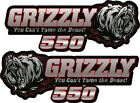 YAMAHA Grizzly 550 Graphic Kit. Tank Decals, Grpahic Kit.  HPGK-ATV-0004