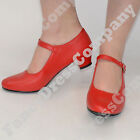 Red Spanish Flamenco Shoes - Dance - World Book Week Costume All Sizes