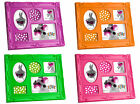 Silly Brand Fluorescent Plastic Photo Frame Baroque Style, Holds (5) Photos
