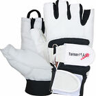TurnerMAX LEATHER Weight lifting Body Building gloves Gym Training fitness New