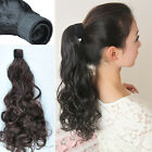 New Metal buckles Women's Long Ponytail Pony Wigs Hair Extensions Headwear KP111