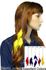 #6064 -- WESTERN COWGIRL CHAIN FEATHER HAIR CLIP EXTENSIONS -WOW!