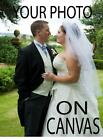 """YOUR PHOTO IMAGE ON TO BOX CANVAS PRINT 20"""" x 16"""" Excellent Valentines Day Gift"""