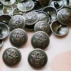 Brass Heraldic 15mm  Metal Buttons Sewing Collectable Craft MB018