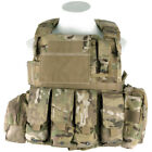 FLYYE ARMY FORCE RECON VEST VER. LAND COMBAT MOLLE CORDURA POUCHES CRYE MULTICAM