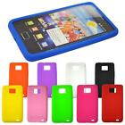 Soft Silicone Back Protector Skin Case Cover For Samsung Galaxy S2 I9100 #6887