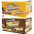 Pure Protein Bars - Box of 12 x 50g - Multi Flavours - MET-Rx