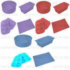 SILICONE BAKEWARE 5 PIECE SET CAKE MOULD LOAF MOULD MUFFIN MOULDS BAKE MAT NEW