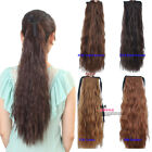 Woman's Girls 50cm Corn Stigma Curly Ponytail Pony Hair Extensions 6 Colros KP41