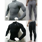 Sports Skin Tight Fitness Compression Long Sleeve Top & Pants S-2XL 23 Style