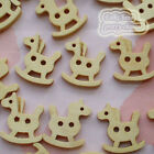 HobbyHorse 17mm Wood Buttons Sewing Scrapbooking Craft NCB024
