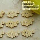 Tortoise 27mm Wood Buttons Sewing Scrapbooking Craft NCB039