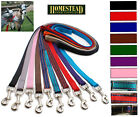 NEW! GOAT HEADCOLLAR COLLAR LEAD - 25mm Web 1.5 m long - 12 Colours