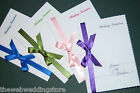 25 Wedding Invitations - Full matching suite of Stationery available