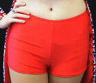 RED LYCRA HOT PANTS-SHORTS-Roller Derby- Dance or Fancy Dress ALL AGES