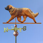 Leonberger Wooden Hand Carved Weathervane. Home,Yard,Barn-Roof Dog Products.