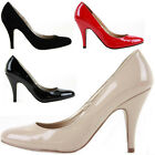 Work Smart Low Mid High Heels Bridal Court Bridesmaid Shoes Pumps Size New