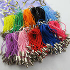 100pcs Charm Mobile Phone Dangle Strap String Thread Cord 21 Colors To Choose