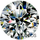 CUBIC ZIRCONIA SUPER EXCELLENT QUALITY LOOSE ROUND STONES 7A CLEAR CZ US SHIPPER