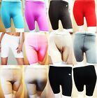 2 PAIRS MULTI PACK LADIES STRETCHY COTTON LYCRA OVER-KNEE SHORT CASUAL LEGGINGS