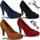 Jane Klain by IDANA Pumps Plateau High Heels in 4 Farben Gr.36-42