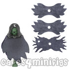 3 Custom Grey Lego Dementor Capes - choose combination from old/new style cape