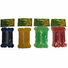 2 Piece Dental Play Bones Pack Dog Toy Bones 4 Colours Blue Green Red Yellow