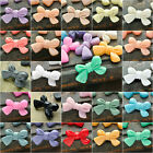Resin fashion Bow Tie Cabochons 23x14 flatback cameo 22 colour choose wholesale