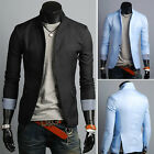 Men's Casual One Button Business Slim fit Suit Blazer Jacket Free Shipping H918