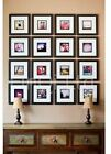 Square Wooden Photo Picture Frames Stand or Wall Hang Family Gift Present FN30