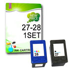 Remanufactured Ink Cartridges Replace For 27 28