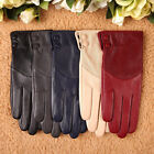 WARMEN 5-color Grace geniune lambskin leather gloves tips for spring suits