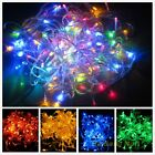 10M 100 LED String Fairy Decoration Light For Xmas Wedding 220V Multi-Colors W8