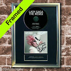LADY GAGA The Remix Album FRAMED AUTOGRAPH CD Repro Signed Print A4 (11)