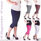LEGGINGS 3/4 Baumwolle UMSTANDSLEGGINGS Umstandshose,Hose,Leggins,Legins,Legging