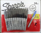 SHARPIE FINE PERMANENT MARKER PEN 1 2 6 8 10 12 or 24 (24 has 1 free) WATERPROOF