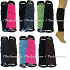 2 pairs Knit,Girls/Womens Leg Warmers Black,Brown,Gray,Blue,Pink,Green